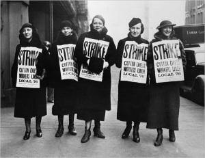 trade union woman